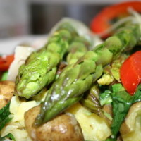 Vanielje Kitchen - Potato Salad with Asparagus and Wild Garlic