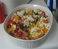 Northside Food, Watermelon Salad