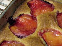 Feeding My Enthusiasms, Plum Cake