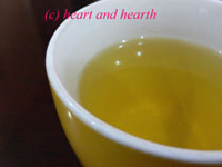 Heart and Hearth, Lemongrass Tea