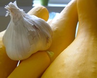 My Yummy Life - Garlicky Roasted Squash