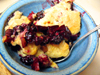 Feeding My Enthusiasms - Blackberry Apple Cobbler