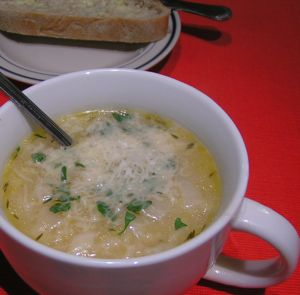 Eat Seasonally - Italian Turnip Soup