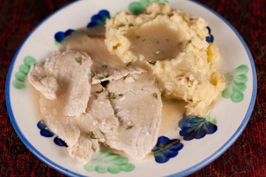Andrea's Recipes - Slow Cooker Turkey Breast and Gravy