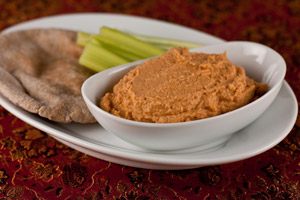 Andrea's Recipes - Slow Roasted Tomato Hummus