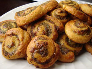 Joelen's Culinary Adventures - Pesto Pinwheels