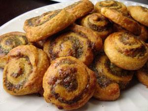 Joelen's Culinary Adventures - Pesto Pinwheels