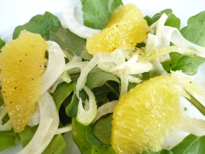 No Fear Entertaining - Fennel Orange Salad