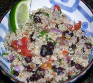 Grow. Cook. Eat. - Black Bean Quinoa Salad