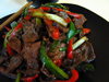 Andrea's Recipes - Beef Bell Pepper with Black Bean Sauce