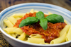 Greedy Gourmet, Simmered Fresh Tomato Sauce