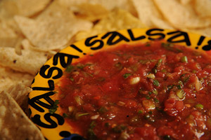 Fab Frugal Food - Sassy Smoky Salsa