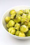 Greedy Gourmet, Brussel Sprouts with Parmesan