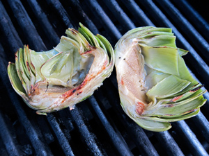 Kitchen Gadget Girl - Grow Your Own Grilled Artichokes