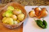 Live, Laugh, Love, Eat, tomatillos