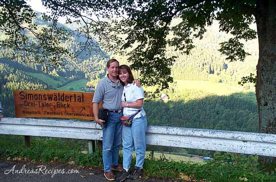 Andrea Meyers - Michael and Andrea in the Black Forest