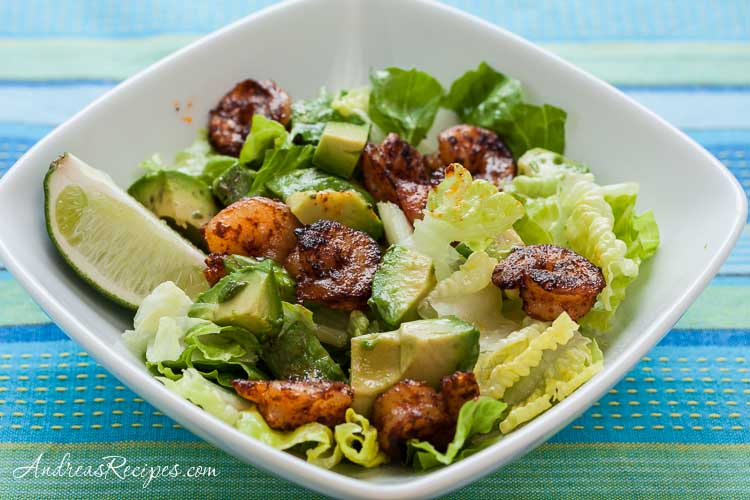 Andrea Meyers - Spicy Shrimp Salad