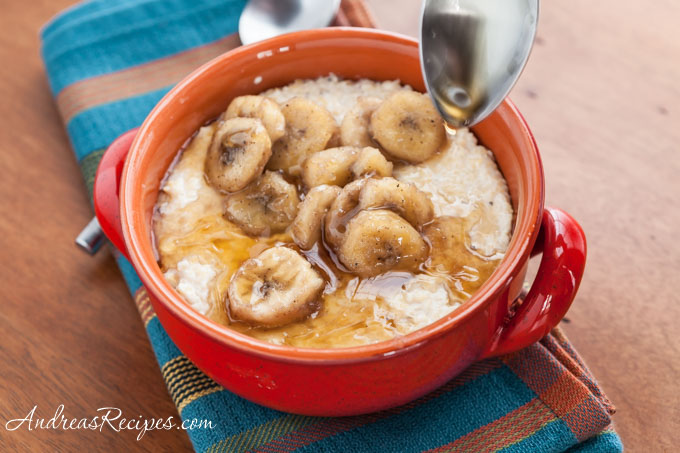 Andrea Meyers - Banana Maple Grits