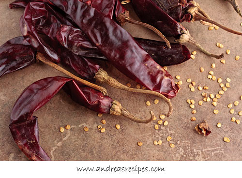 Andrea Meyers - Guajillo chiles