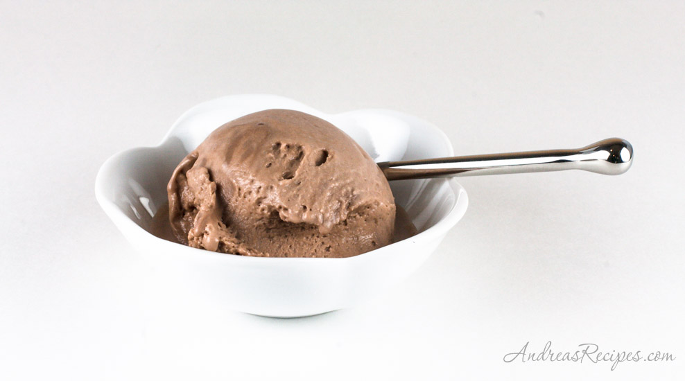 Andrea's Recipes - Guinness Milk Chocolate Ice Cream