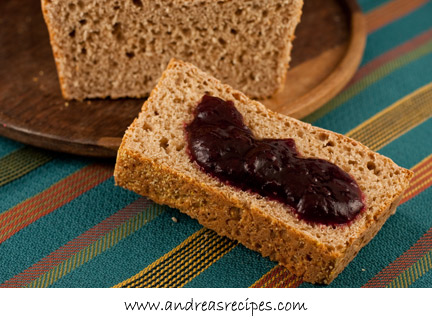 Andrea's Recipes - Honey Wheat English Muffin Bread
