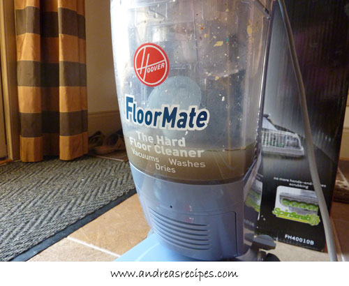 Andrea Meyers - Hoover FloorMate Hard Floor Cleaner, dirty water tank