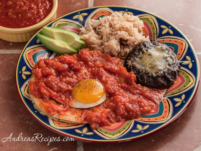 Huevos Rancheros (The Kids Cook Monday)
