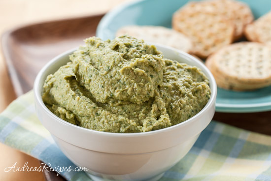 Artichoke and Spinach Hummus