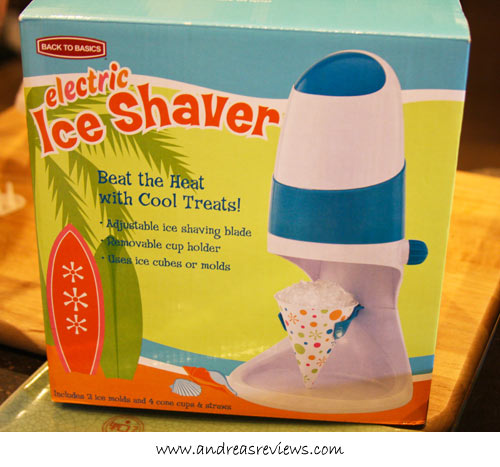Andrea Meyers - Ice Shaver box