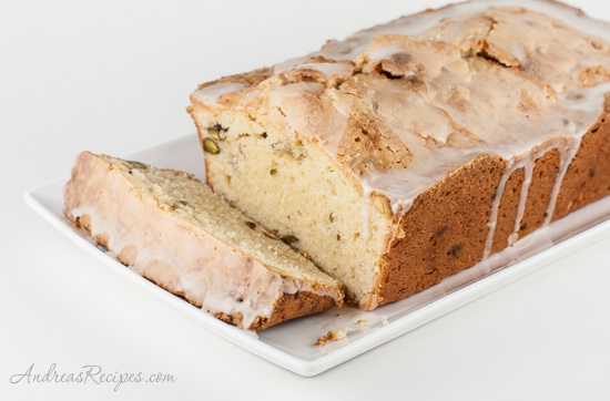 Irish Cream Pound Cake - Andrea Meyers