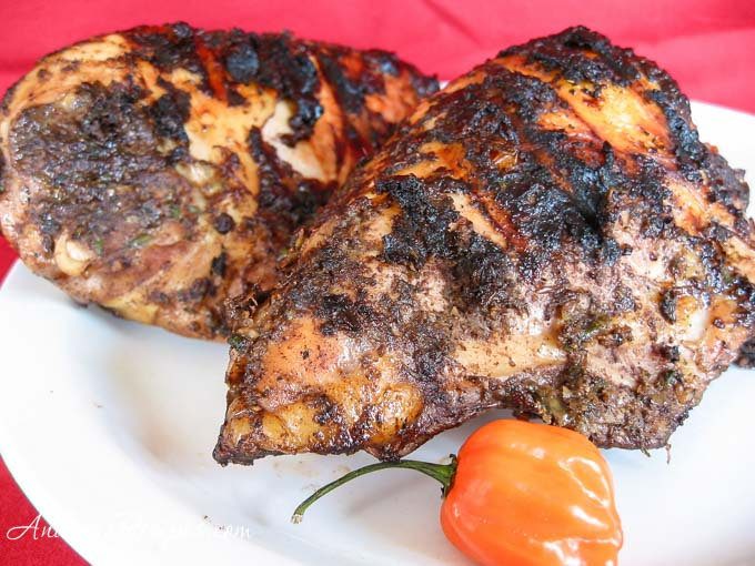Andrea's Recipes - Jamaican Jerk Chicken