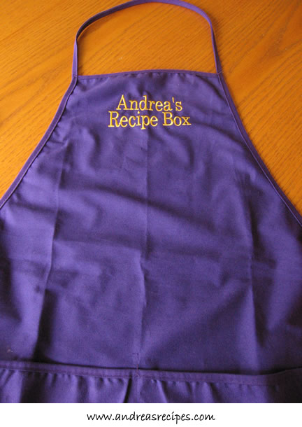 Apron from KidsAprons.com