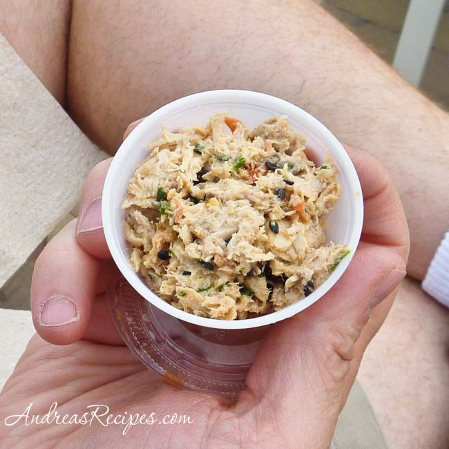 Andrea Meyers - Lifetime Asian Tuna Salad sample