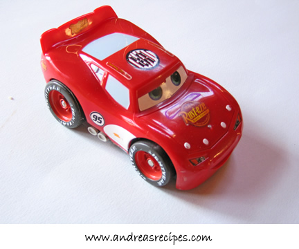Lightening McQueen model