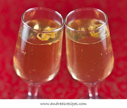 Limoncello Sparkle Cocktail - Andrea Meyers