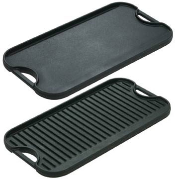 Lodge Logic Pro Cast Iron Grill/Griddle