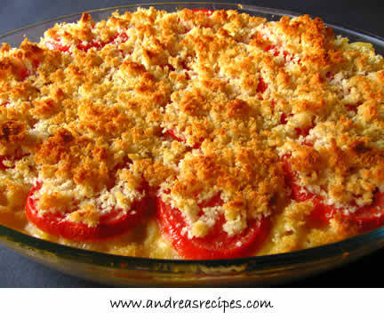 Macaroni and Cheese with Gruyere and Tomatoes