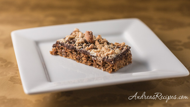 Andrea's Recipes - Mocha Toffee Bars