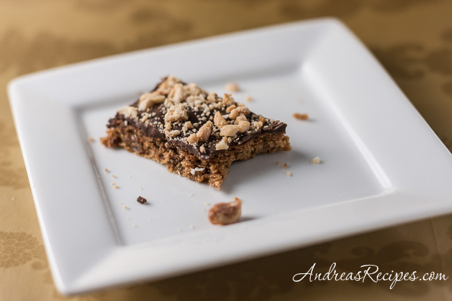 Andrea Meyers - Mocha Toffee Bars