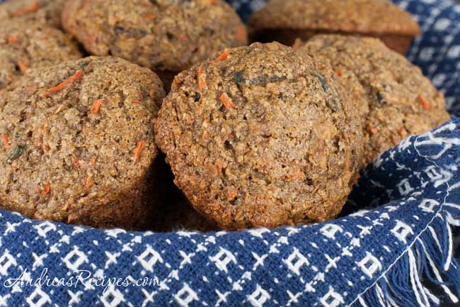 Oat Bran Flax Muffins - Andrea Meyers