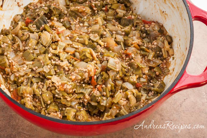 Andrea Meyers - Smothered Okra