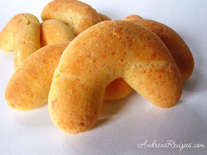 Pan de Yuca (Yuca bread) - Andrea Meyers