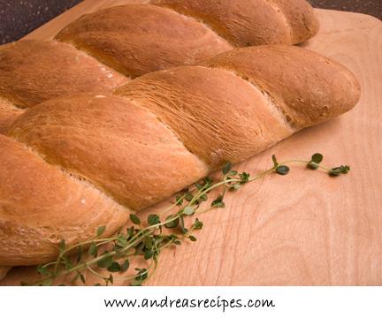 Italian Herb Twise Bread (pane alle erbi)
