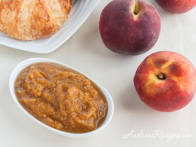 Spiced Peach Butter - Andrea Meyers