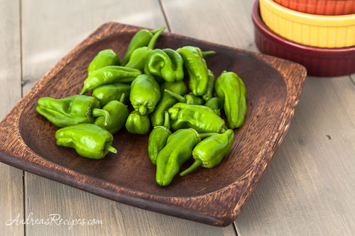 Andrea Meyers - Homegrown Padron Peppers