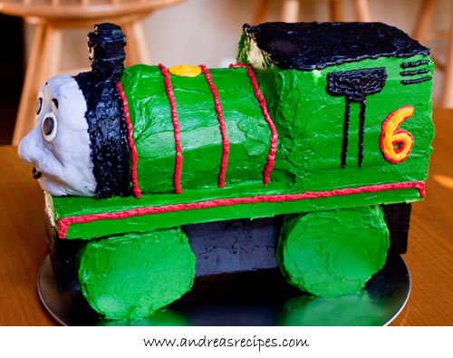 Andrea Meyers - Percy Train Birthday Cake