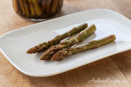 Refrigerator Asparagus Pickles
