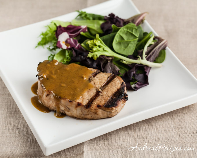 Andrea Meyers - Maple Mustard Pork Chops