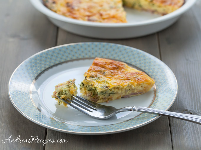 Andrea's Recipes - Crustless Quiche
