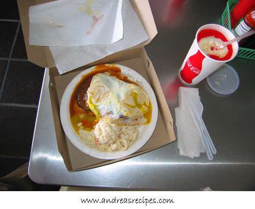 Andrea Meyers - Rainbow Drive In, Loco Moco and Cherry Slush
